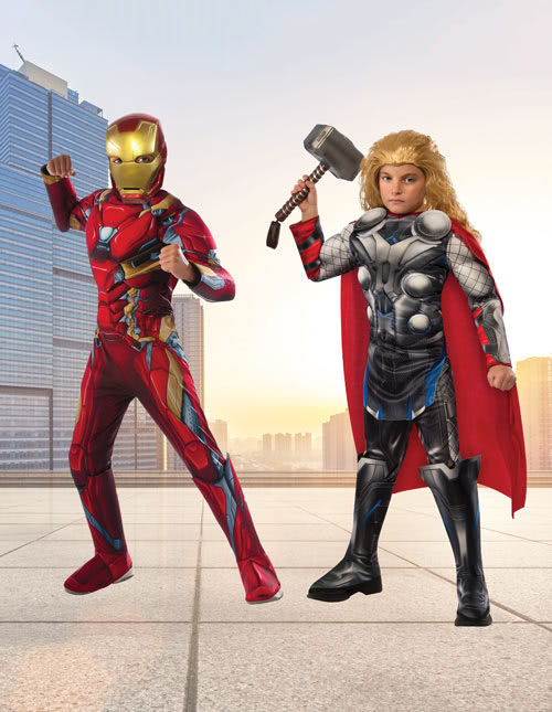Thor and Iron Man Costumes