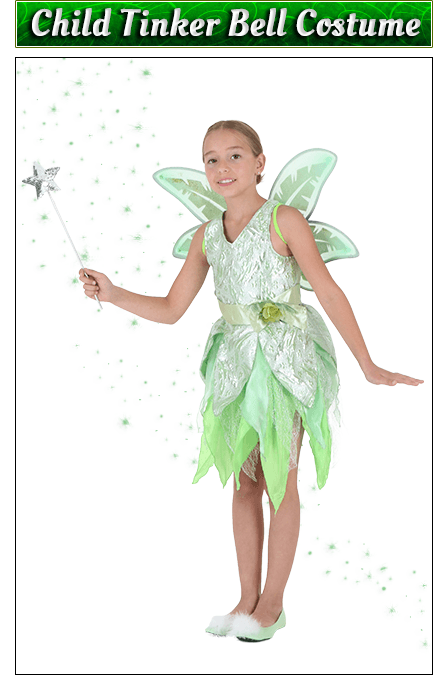 Child Tinker Bell Costume