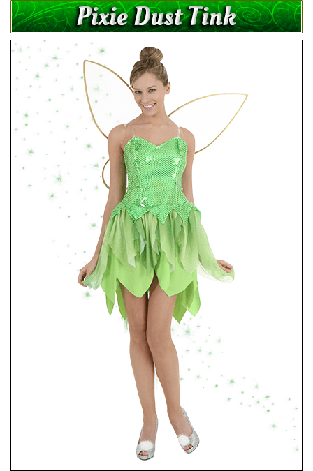 Pixie Dust Tink Costume
