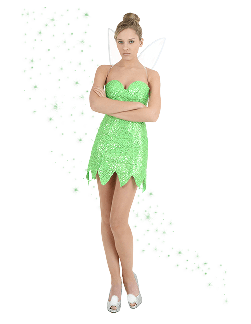 Green Tinker Bell Costume