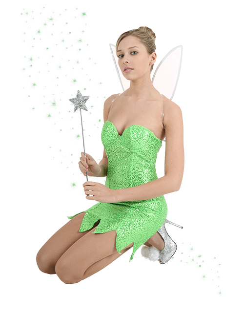 Pin-Up Tinker Bell Costume