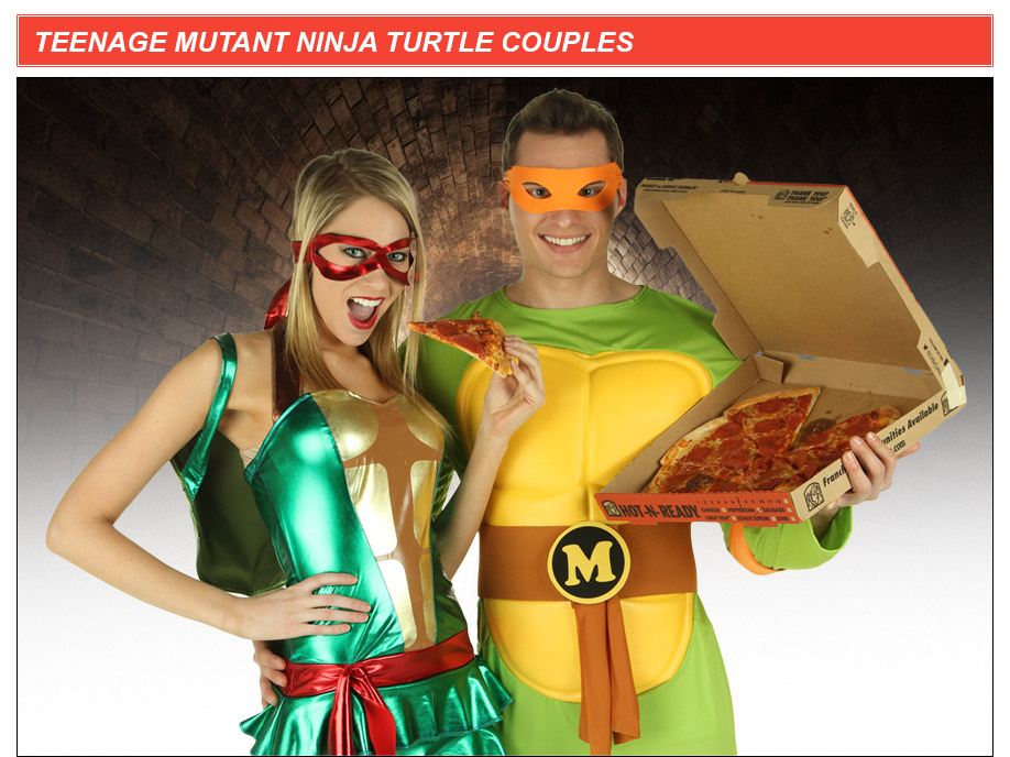 TMNT Couples Costume Idea  sc 1 st  Halloween Costumes & Teenage Mutant Ninja Turtles Costumes - HalloweenCostumes.com