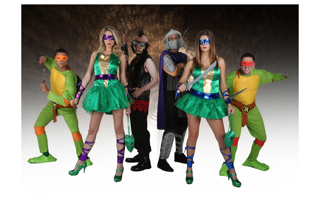 Teenage Mutant Ninja Turtles Costumes