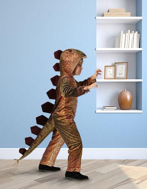 Kid Dinosaur Costume