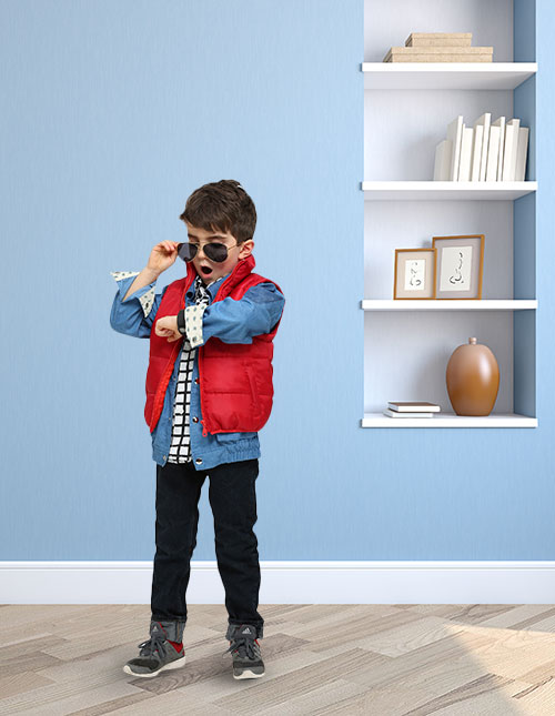 Marty McFly Costume Kids
