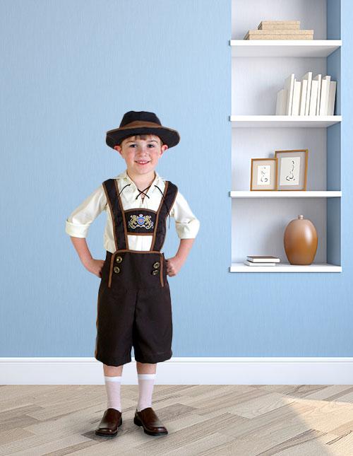 Toddler Lederhosen Costume