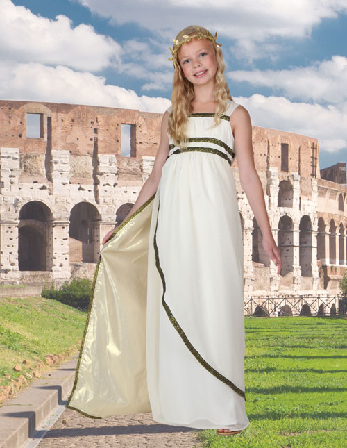 Girls Greek Goddess Costume
