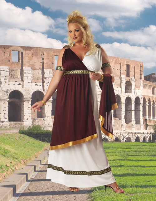 Plus Size Grecian Costume