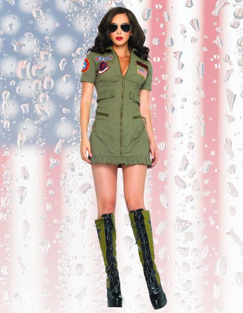 Top Gun Flight Dress