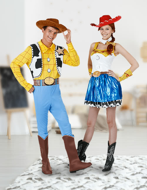Woody and Jessie Costumes
