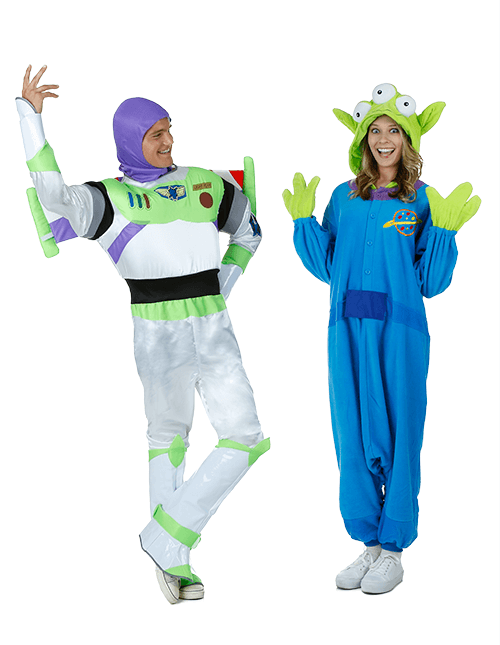 toy story spanish mode pose - Toy Story Alien Halloween Costume
