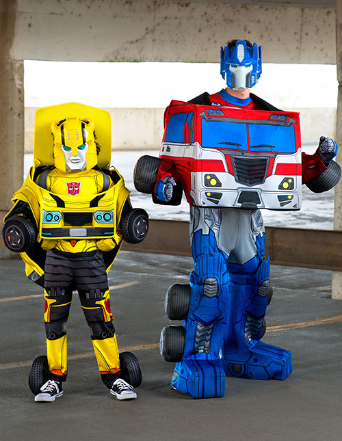Transformers Converting Costumes