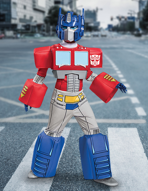 Optimus Prime Halloween Costume