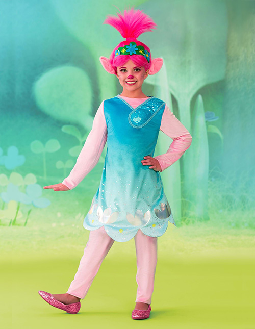 Dreamworks Trolls Poppy Costume