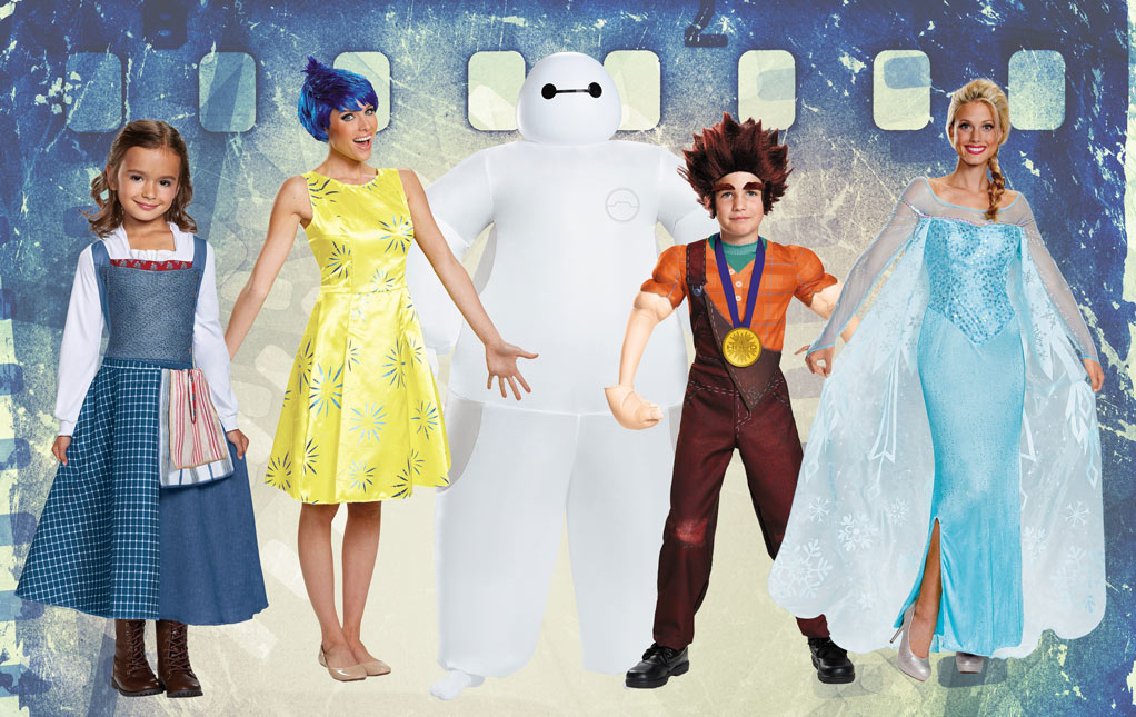 Animated Movie Character Costumes