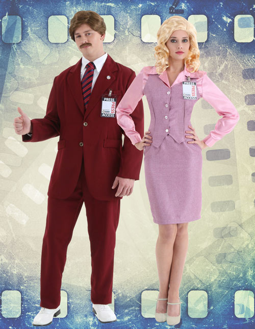 Anchorman Movie Couples Costumes idea