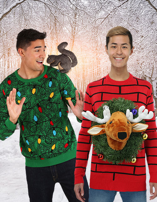 3D Ugly Christmas Sweaters