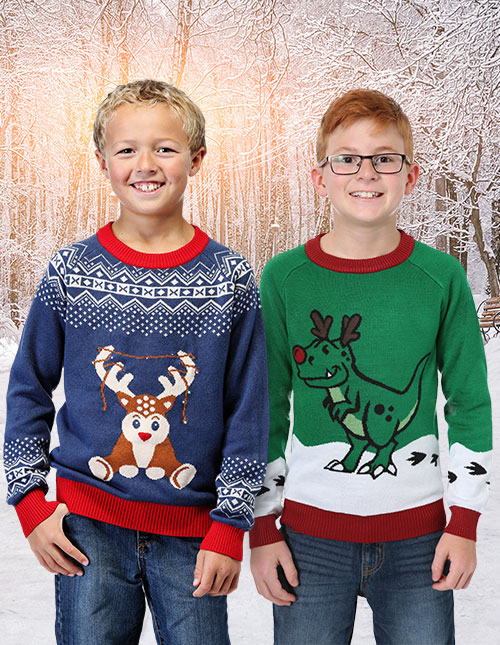 Boys' Ugly Christmas Sweaters