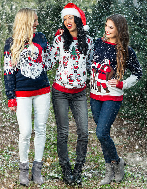Cute Ugly Christmas Sweaters