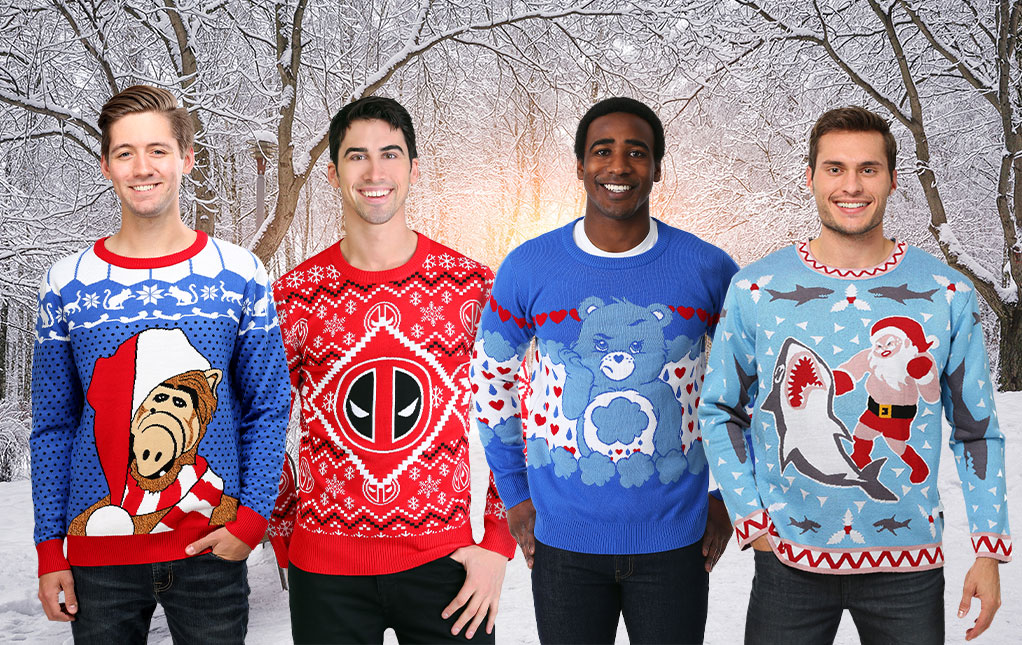 Men's Ugly Christmas Sweaters