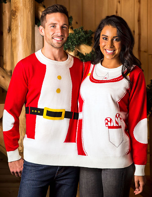 Two-Person Christmas Sweater