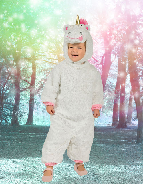 All little Despicable Me fans wish they could give Agnesu0027 fluffy unicorn a squeeze because itu0027s just so fluffy. Now fans can actually transform into the ...  sc 1 st  Halloween Costumes & Unicorn Halloween Costumes For Kids u0026 Adults - HallowenCostumes.com