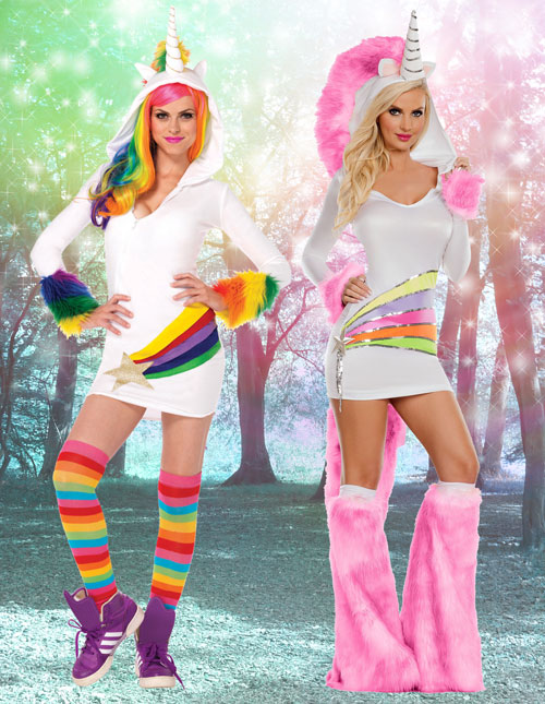 Rainbow Unicorn Costumes