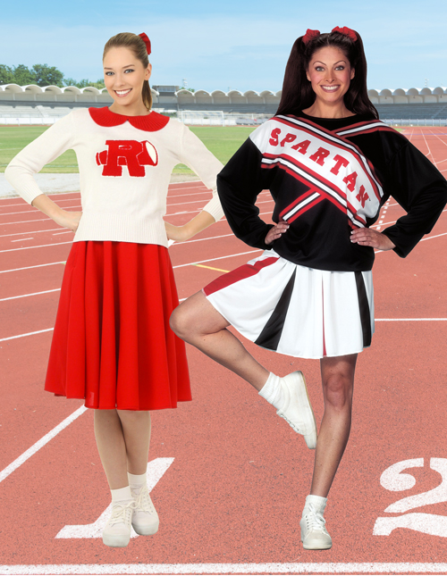 Cheerleader Apparel for Adults