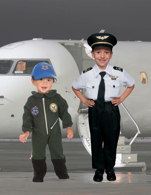 Kid's Pilot Costume
