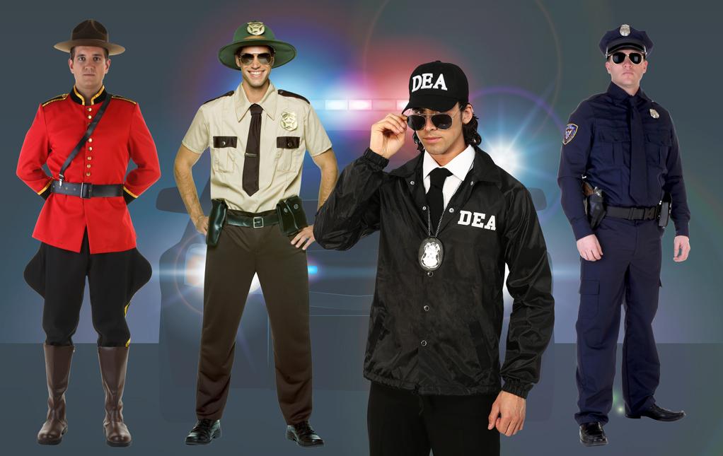 Men's Police Costumes