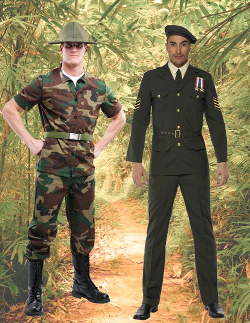 Men's Military Costumes