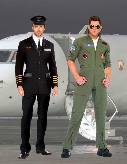 Pilot Costumes for Men