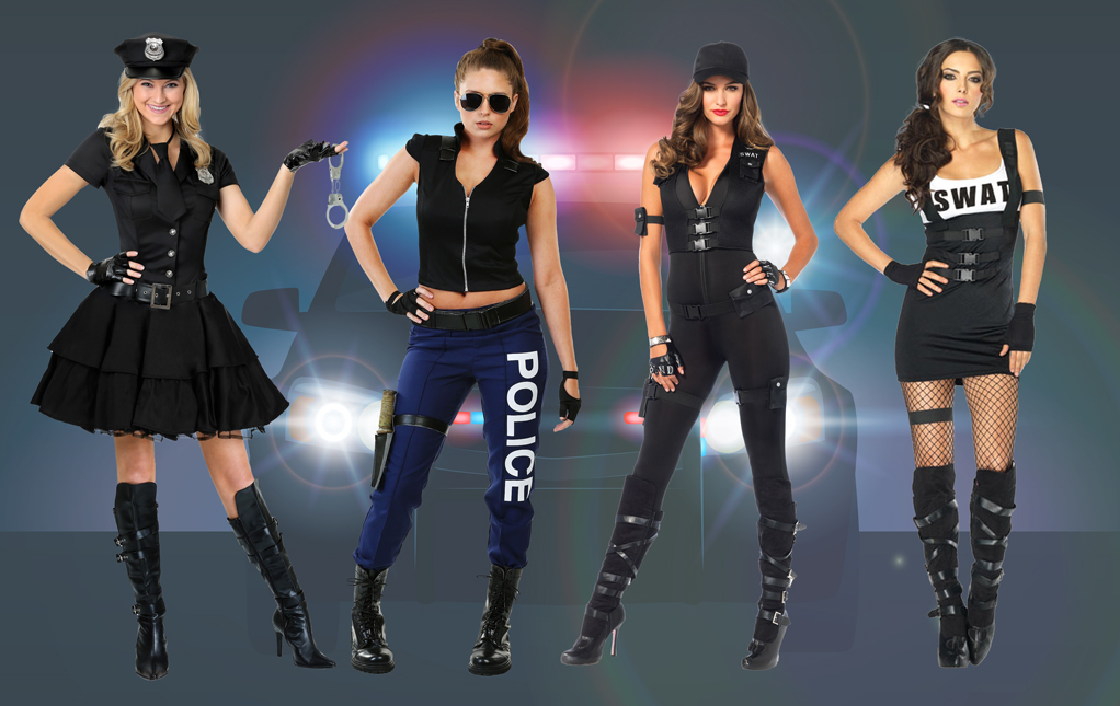 Women's Police Costumes