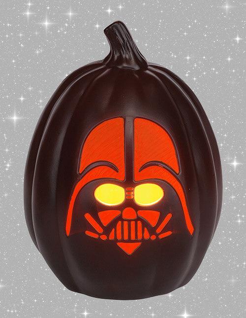 Star Wars 12' Darth Vader Face Light-Up Pumpkin