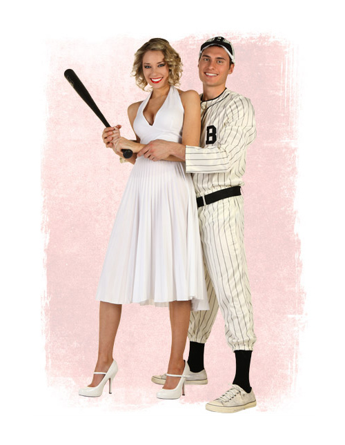 Marilyn and Joe DiMaggio Costumes