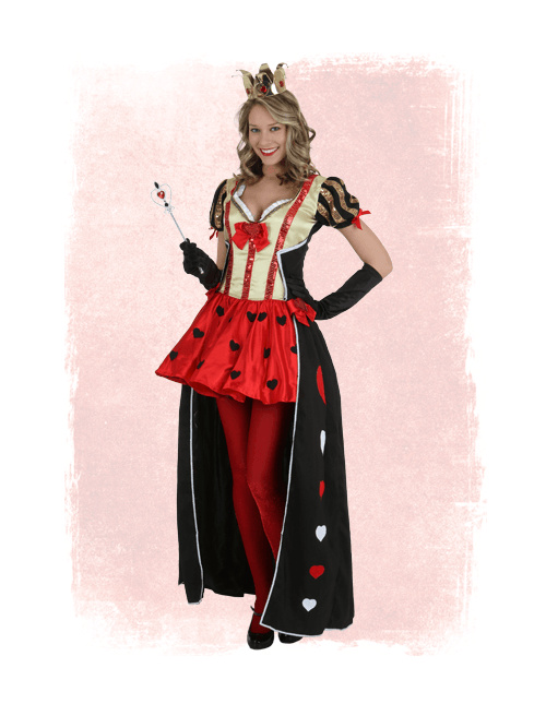 Valentine's Day Queen of Hearts Costume