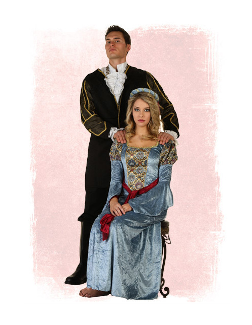 Henry VIII and Anne Boleyn Costumes