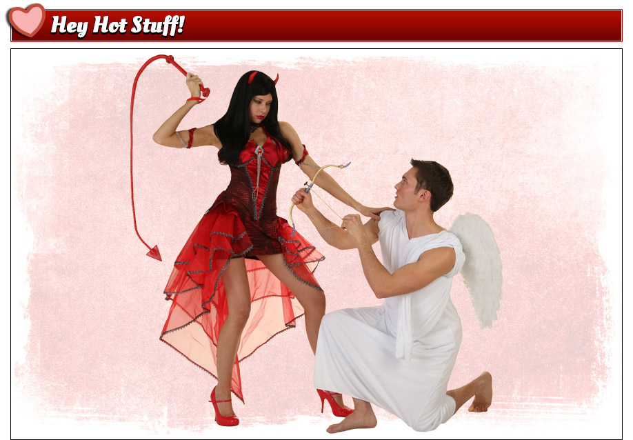 Devil and Cupid Valentine's Costumes