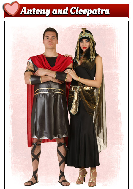 Antony and Cleopatra Costumes  sc 1 st  Halloween Costumes & Valentines Day Costumes - Sexy Adult Costumes for Valentines Day