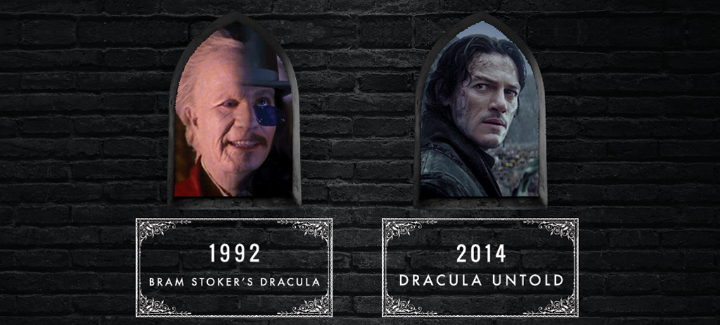 Bram Stoker's Dracula and Dracula Untold