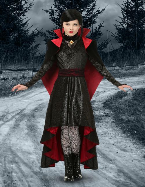 Girls' Vampire Costume