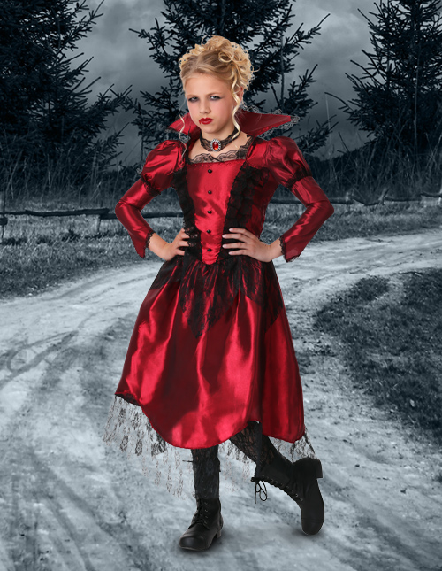 Little Girls' Vampire Costume
