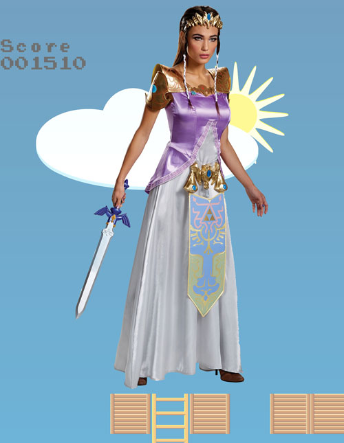 Women's Zelda Costume