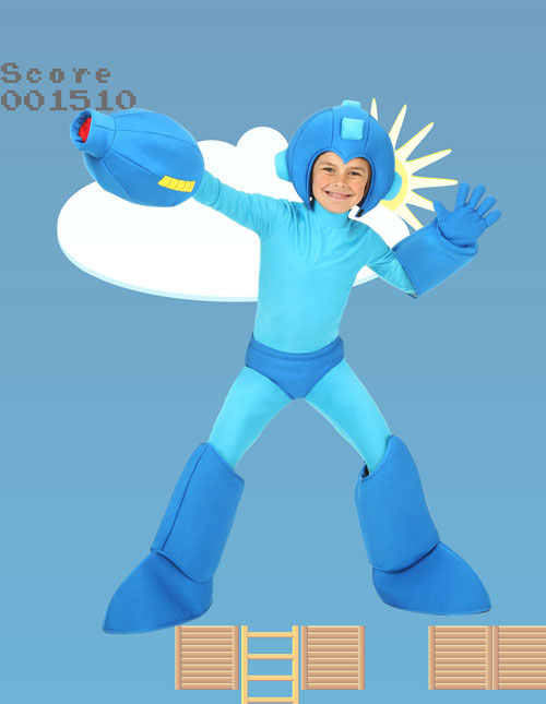 Child Mega Man Costume
