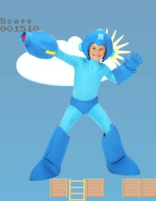 Child Mega Man Costume