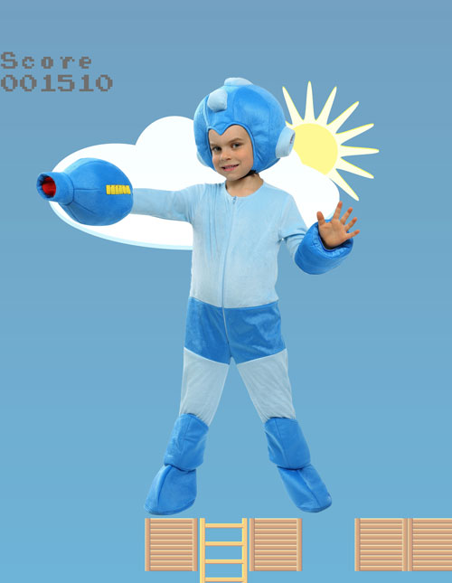 Toddler Mega Man Costume