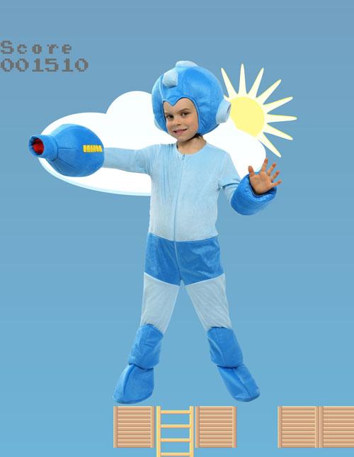 Toddler Mega Man Costume