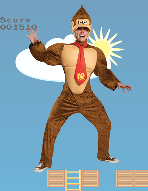 Adult Donkey Kong Costume