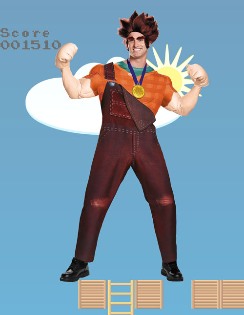 Wreck It Ralph Costume