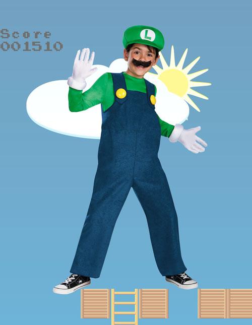 Child Luigi Costume